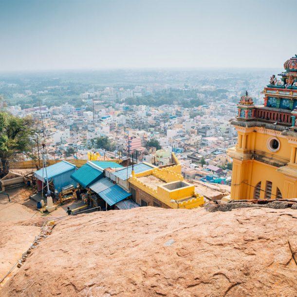 Rockfort Temple - Ucchi Pillayar Temple Trichy